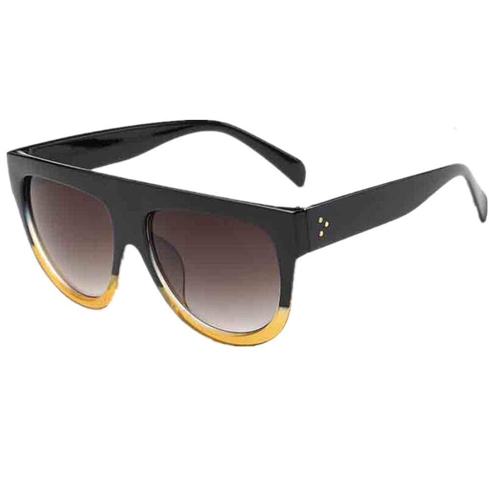 VJGOAL Unisex gafas de sol retro cuadradas retro gafas de ...