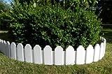 GARDEN EDGING PLANT BORDER - WHITE - 2.36 m - INTERHOME