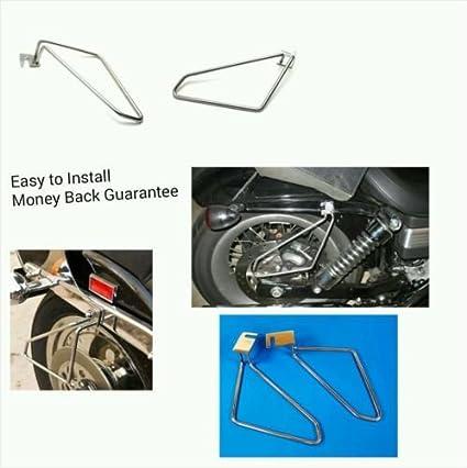 Amazon com: IND STURGIS Motorcycle saddlebags brackets for