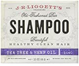 J.R.Liggett's Old-Fashioned Bar Shampoo Tea Tree and Hemp Oil Formula -- 3.5 oz