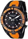 MULCO Unisex MW5-1836-615 Titan Wave Analog Display Japanese Quartz Orange Watch