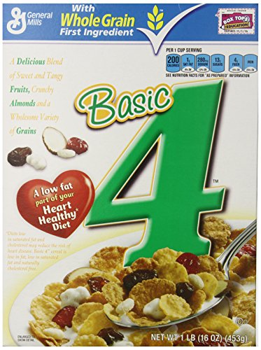Basic 4 Cereal, 16 Ounce (Pack of - 4 Basic Cereal