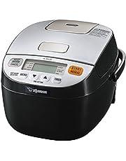 ZOJI NL-BAC05SB Micom Rice Cooker & Warmer, Silver Black