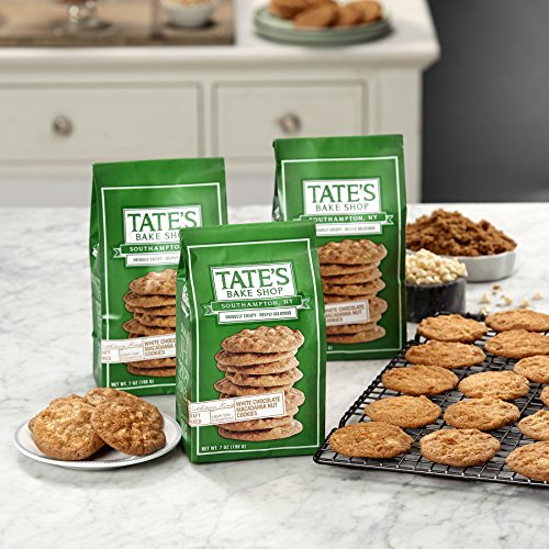 Tate's Bake Shop Cookies - White Chocolate Macadamia Nut - 7 oz - 3 Pack