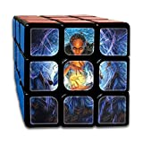 AVABAODAN Magic Girl And Cat Rubik's Cube 3D Printed 3x3x3 Magic Square Puzzles Game Portable Toys-Anti Stress For Anti-anxiety Adults Kids