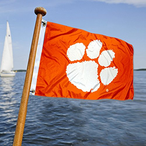 (Clemson Golf Cart and Boat Flag)