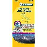 Trentino - Michelin Local Map 354 (Michelin Local Maps)