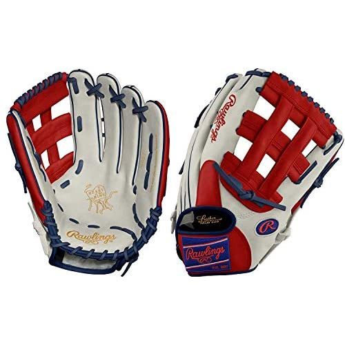 Image of Rawlings PRO3039−6 12.75' Heart of The Hide Patriot Outfield Baseball Glove New