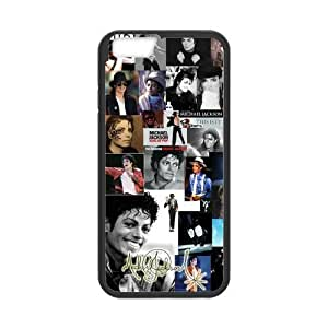 Onshop Custom Michael Jackson Collage Phone Case Laser Technology for iPhone 6 4.7 Inch by icecream design