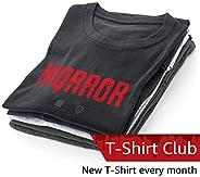 Horror Icons T-Shirt Club Subscription – Men – XL