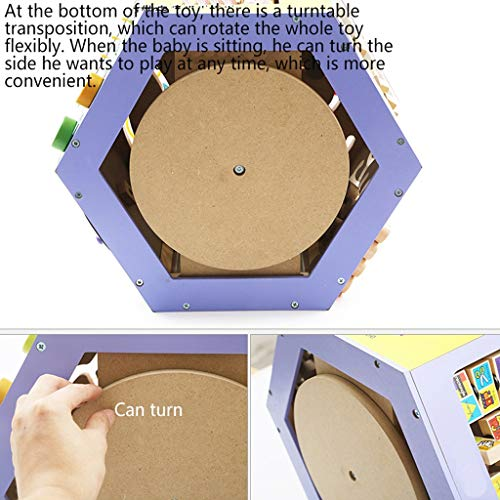 LIUFS-TOY Children's Beaded Treasure Chest Puzzle Early Learning Hexahedron Toy Gift ( Size : M ) by LIUFS-TOY (Image #3)