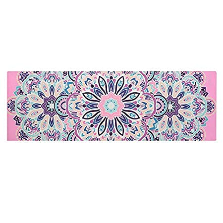 BAIF Tapete de Yoga Cuadrado/tapete de meditación Plegable ...