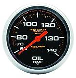 Auto Meter 5441 Pro-Comp Liquid-Filled Mechanical Oil Temperature Gauge
