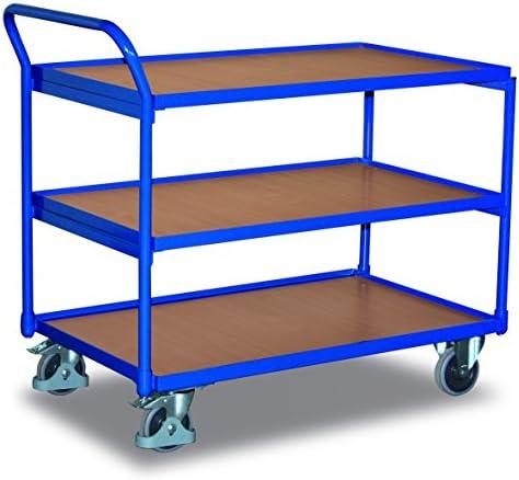 VARIOFIT Tischwagen Transportwagen, Eigengewicht: 40 kg, Ladefläche: 850 x 500 mm