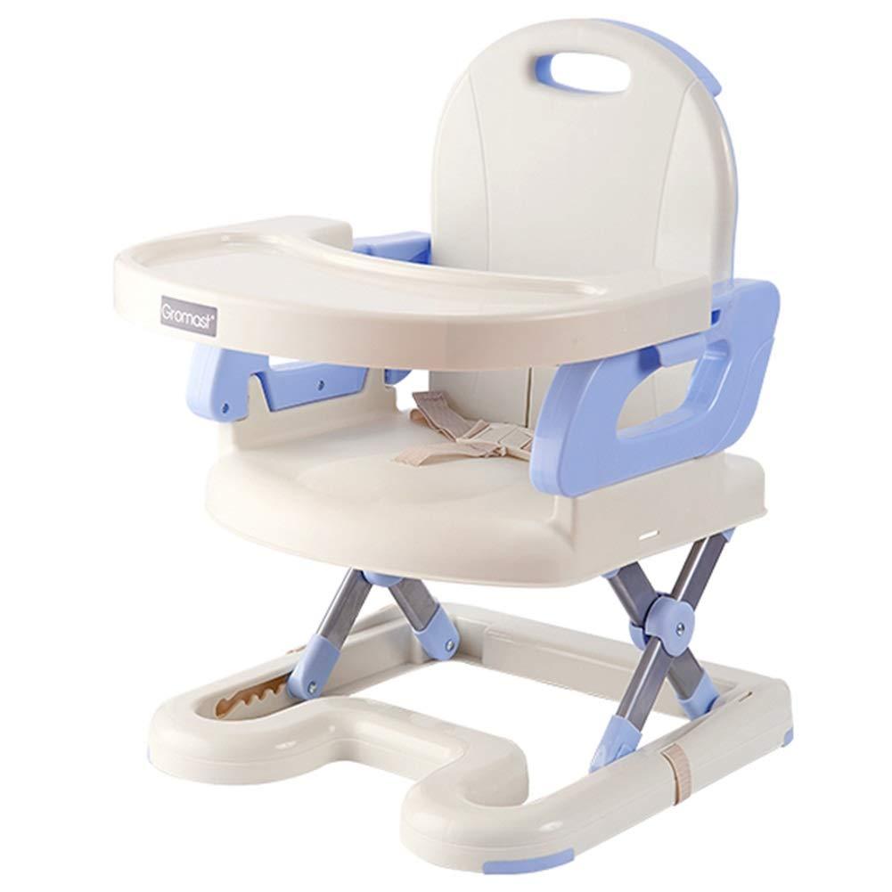 【信頼】 LXLA - B07P1H79WF ベビー -/幼児/幼児のための座席ハイチェアを食べる携帯用ブースター - ハーネスおよび皿と : (色 : 青) 青 B07P1H79WF, nico_onlinestore:eb83adcf --- a0267596.xsph.ru