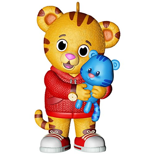 Hallmark Keepsake 2017 Daniel Tiger's Neighborhood Daniel and Tigey Christmas Ornament by Hallmark
