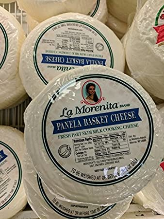 La Morenita Panela Basket Cheese 3 Lb (2 Pack)
