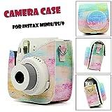Rainbow Canvas Symphony Case Bag Skin Cover Accessories for Fujifilm Instax Mini 8/Mini 8s/Mini 9