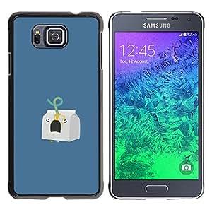 MOBMART Slim Sleek Hard Back Case Cover Armor Shell FOR Samsung ALPHA G850 - Milk Carton Murder - Funny