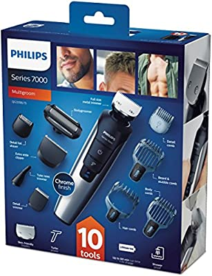 Philips Grooming Kit Serie 7000 PRO - QG3398/15 - Recortador barba ...