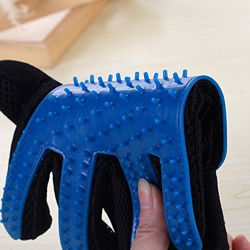 Kirsches Pet Grooming Glove Hair Remover Brush for Long&Short Fur Gentle Shedding Massage Tool Dog/Cat/Horse One Pair by Kirsches (Image #4)