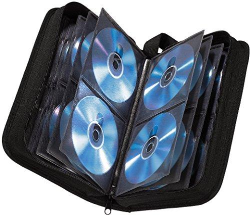 Hama Nylon 120 CD/DVD/Blu-Ray Wallet - Black