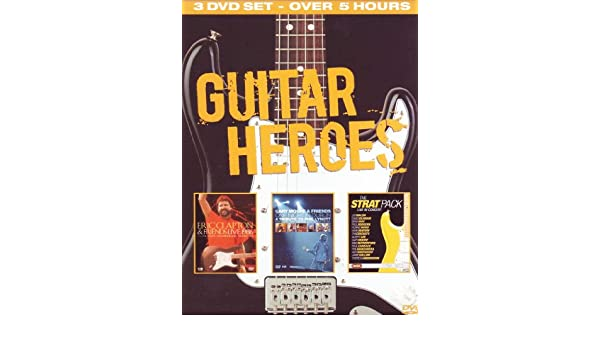 Guitar Heroes [Reino Unido] [DVD]: Amazon.es: Eric Clapton & Gary Moore & The Strat Pack, Eric Clapton & Gary Moore & The Strat Pack: Cine y Series TV