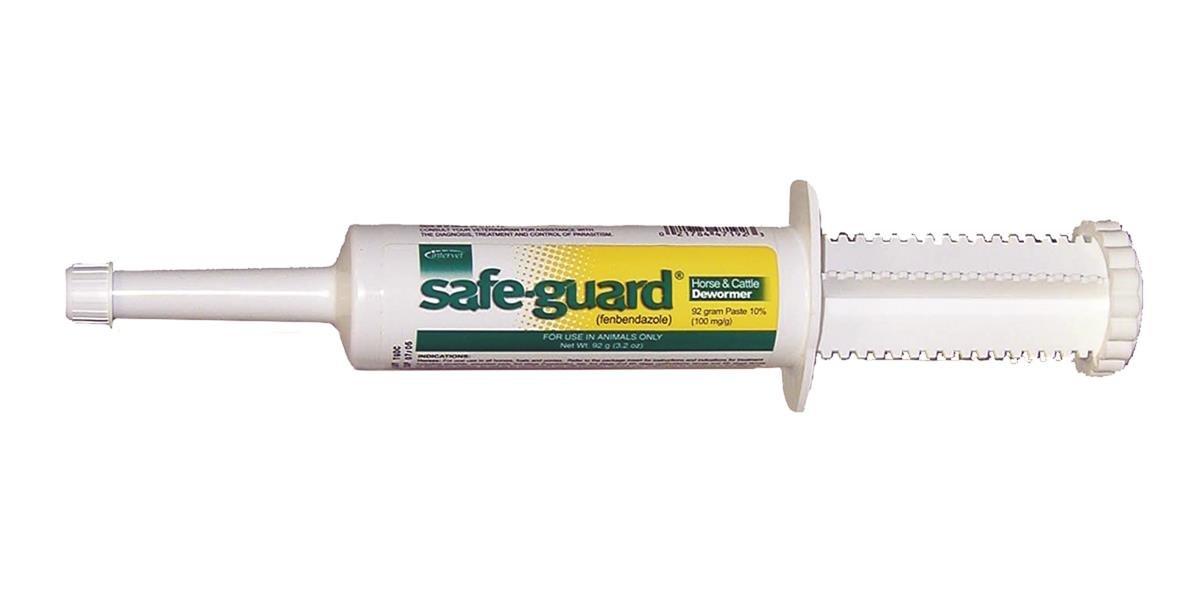 Intervet Safeguard Dewormer Paste for Horses, 92gm by Ivesco
