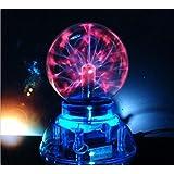 Hensych® Cristal Bola de plasma USB + móvil + Control de Audio + caja de regalo Lightning luz lámpara de mesa escritorio parte Crystal Decoración lámpara de luz