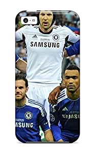 Iphone High Quality Tpu Case/ Chelsea Club Fc UadWVcE938HQvra Case Cover For Iphone 5c