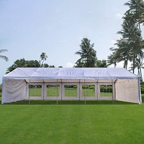 Carpa para fiestas muy resistente, para bodas, cenador para eventos al aire libre, de Quictent., color blanco, tamaño 6x10M, 393.70 x 236.22 x 131.89inches: Amazon.es: Hogar
