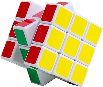 Demidel - Stickerless Magic Cube Rubiks Cube Speed Cube Puzzle Toy 3X3X3