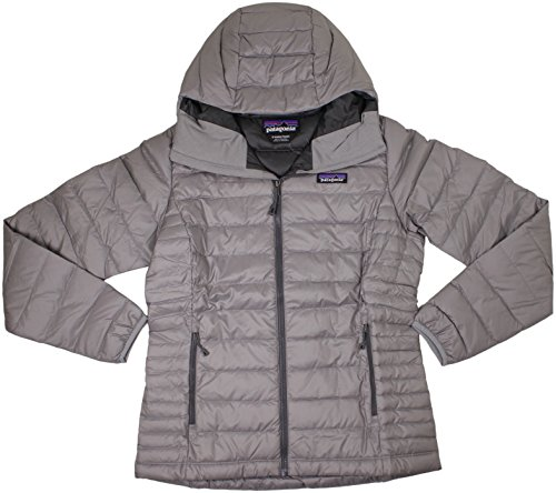 Patagonia W's Down Sweater Hoody Jacket Feather Grey Womens XS ()