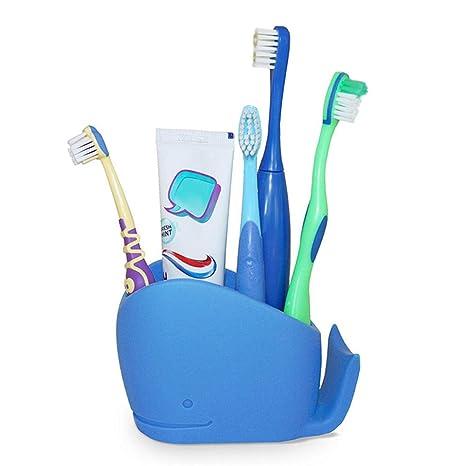 Bathroom cepillo de dientes Caddy, cepillo de dientes y pasta de dientes Stand / Holder
