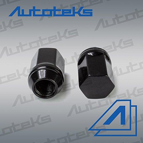 20 Pc 9/16'' Black OEM Style Factory Lug Nuts   Works with 2002-2011 Dodge Ram 1500 Dakota & Durango Factory Wheels by Autoteks (Image #4)