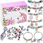 monochef DIY Charm Bracelet Making Kit, Jewelry Making Supplies Bead Snake
