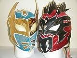sin cara mask kids - Wrestling Masks Uk The Nxt Lucha Dragons Sin Cara & Kalisto Kids Wrestling Masks