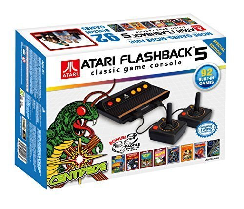 Atari Flashback 5 Classic Game Console Special Edition (2 Wired Controllers + 1 Pair of ()