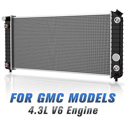(Complete Radiator for GMC Chevy Blazer S10 Jimmy Sonoma Hombre Bravada 4.3L V6)