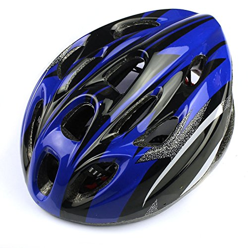Cycling Safety Helmet, WuyiMC New Adult Sports Mountain Road Bike Bicycle Motorcycle Hiking Running Skateboarding Cycling Ultralight 18 Vents Helmets (Blue)