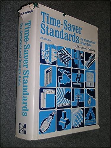 TimeSaver Standards For Architectural Design Data 5th Edition