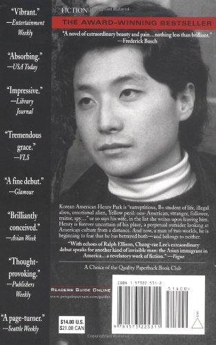 Amazon.com: Native Speaker (9): Lee, Chang-rae: Books