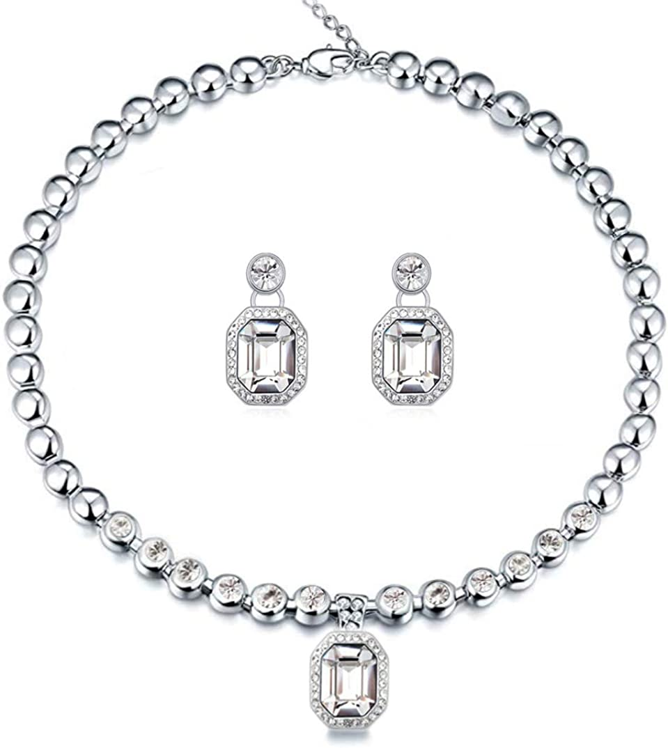 Blue/White Crystal Jewelry...