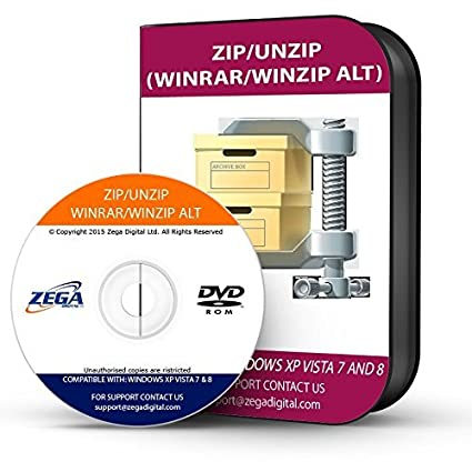 ZIP WINZIP 7ZIP UNZIP WINRAR SOFTWARE PLUS BONUS CD DISC: Amazon ca