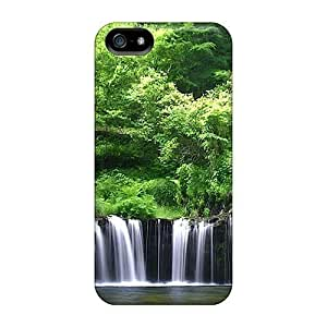 Hot Fashion SpH1534pPyi Design Cases Covers For Iphone 5/5s Protective Cases (rain Forest)