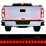 "Moongo Waterproof 60"" Red/white Tailgate LED Strip Light Bar Reverse Brake Turn Signal Tail for Ford GMC Toyota Nissan Honda Truck SUV 4x4 Dodge Ram Chevy chevrolet Avalanche Silverado"