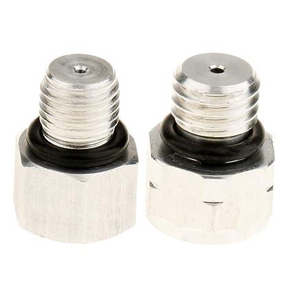 Sharplace Válvulas de Alivio de Presión de Compresor de Aire Acondicionado para Coches