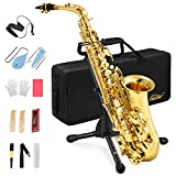 Eastar AS-Ⅱ Student Alto Saxophone E Flat Gold