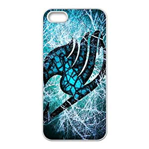 Blue-green Fairy Tail Cell Phone Case for iPhone 5S
