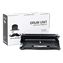 Moustache® Brother DR360 DR-360 Premium Quality Compatible Drum Unit for Brother TN360 TN-360 Of Brother DCP-7030 DCP-7040 DCP-7045N HL-2140 HL-2150N HL-2170W MFC-7320 MFC-7340 MFC-7345DN MFC-7345N MFC-7440N MFC-7840W printers - 12000 (12k) pages yield